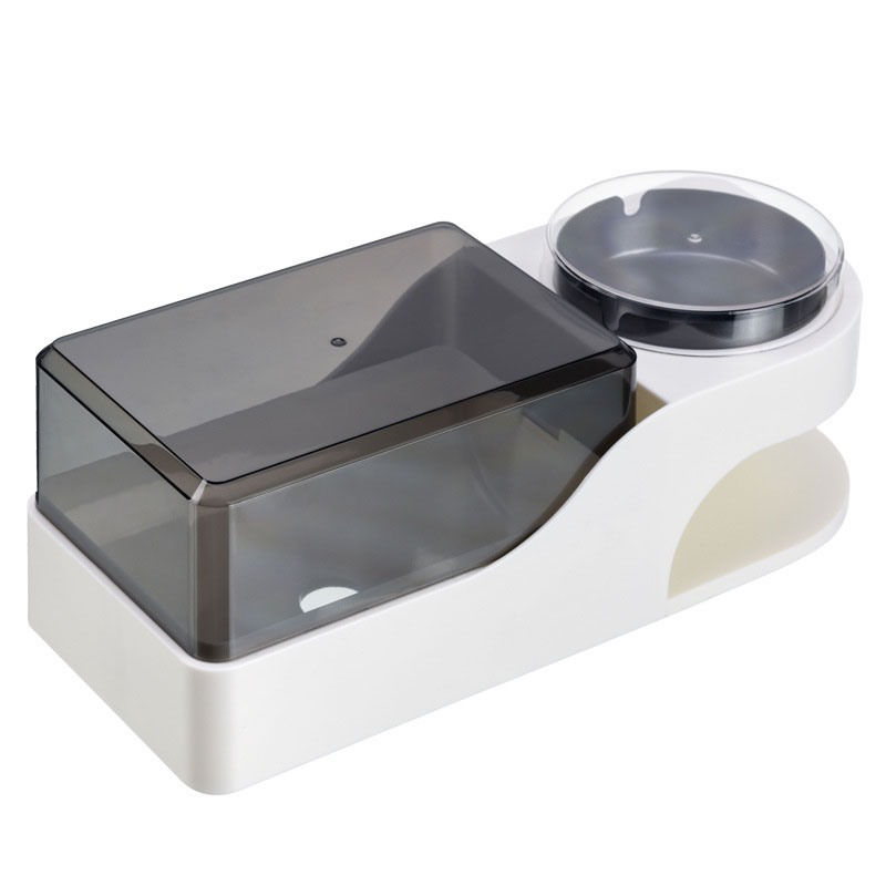 Ericdress Bathroom Paper Towel Box with Ashtray Rack Not Perforated