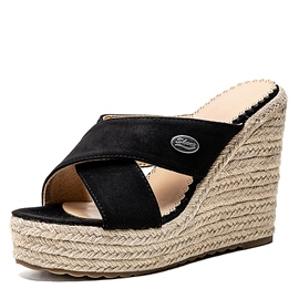 Ericdress Thread Cross Slip-On Plain Slippers