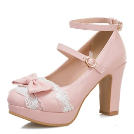 Ericdress Thread Line-Style Buckle Round Toe Casual Thin Shoes