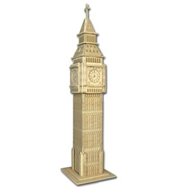 Ericdress Puzzle London Clock Model
