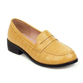 Ericdress Block Heel Round Toe Slip-On Casual Thin Shoes