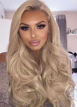 Ericdress Natural Looking Women's 613 Blonde Body Wavy Synthetic Hair Wigs Side Part Capless Wigs 26Inch