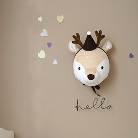 Ericdress Animal Elk Creative Wall Stickers / Wall Decorations