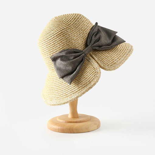 Ericdress Straw Plaited Article Sweet Fall Color Block Hats