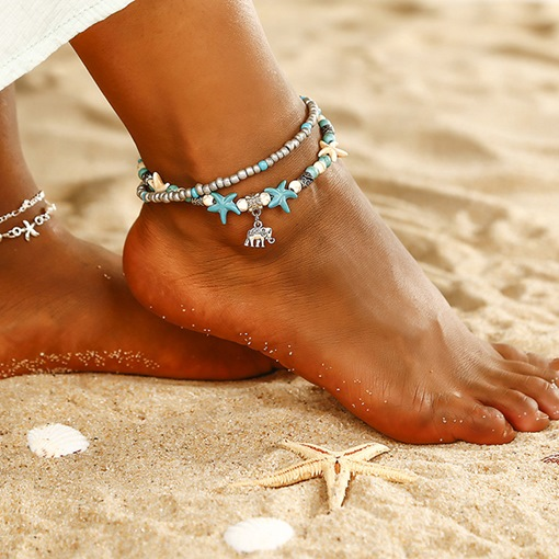 Ericdress Female Bohemian Anklets