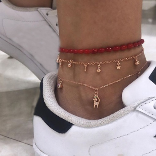 Ericdress Sweet E-Plating Women's Anklets