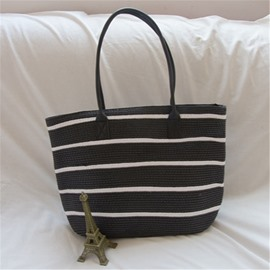 Ericdress Knitted Tote Women's Bags