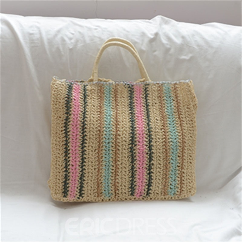 Ericdress Knitted Korean Tote Bags