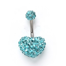 Ericdress European Alloy Anniversary Women's Belly Ring