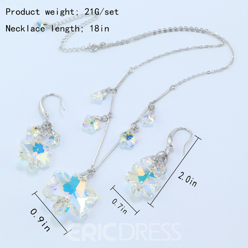 Ericdress Necklace E-Plating Anniversary Women's Jewelry Sets