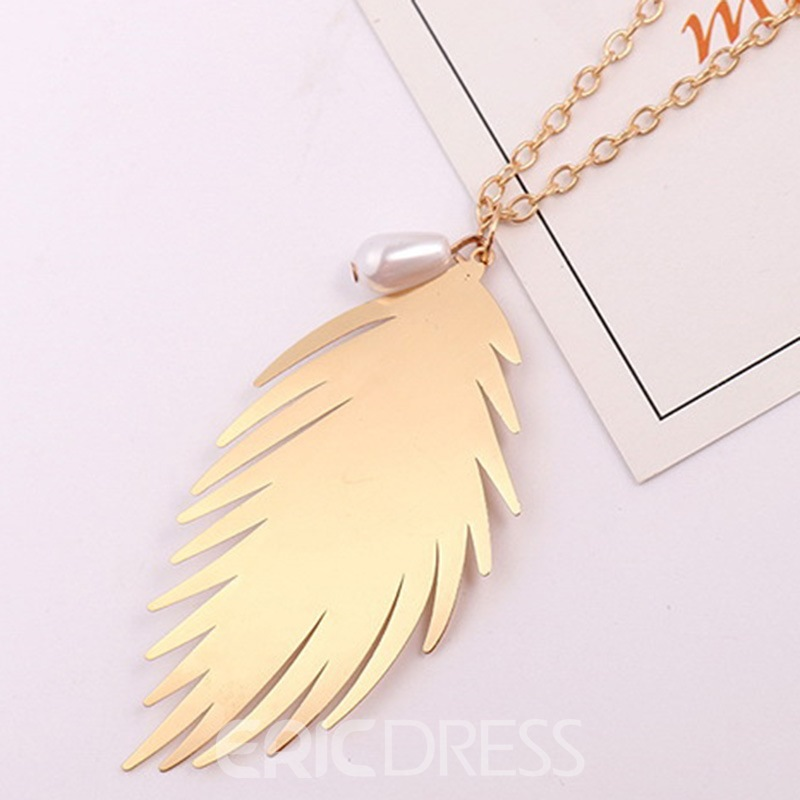 Ericdress Sweet Leaf Female Women's Necklaces