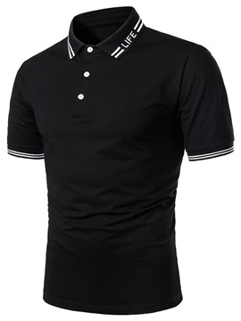 Ericdress Men's Casual Polo Shirt