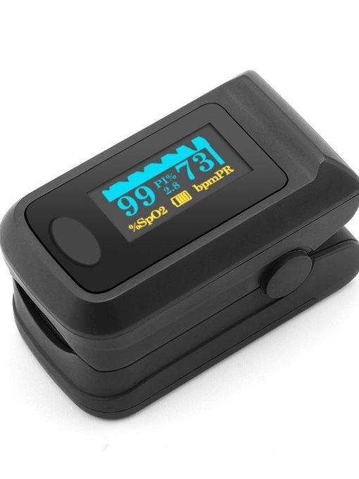 Ericdress Blood Oximeter Finger Clip Heart Rate Monitoring Instrument