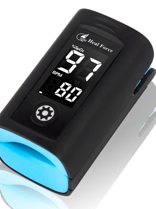 Ericdress Blood Oximeter Finger Clip Heart Rate Monitoring