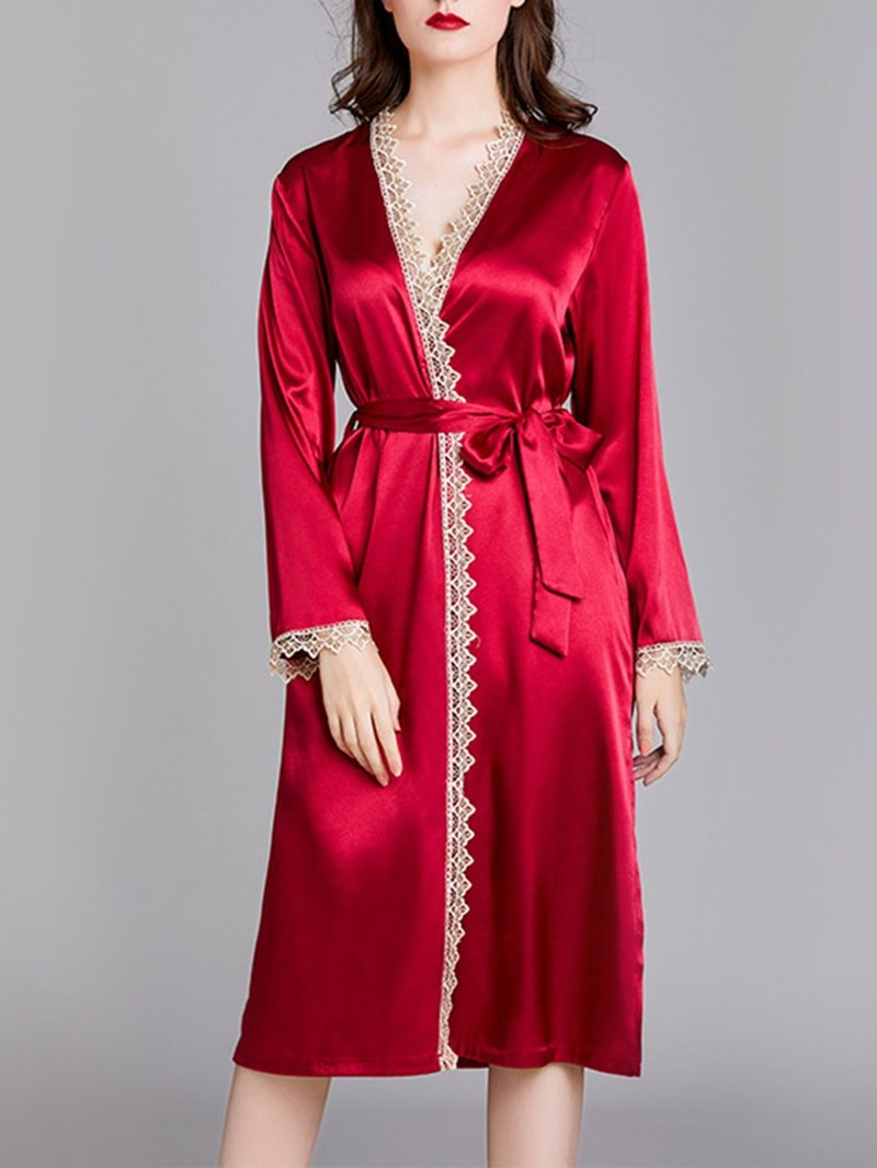 Ericdress Loose Polyester Night-Robes
