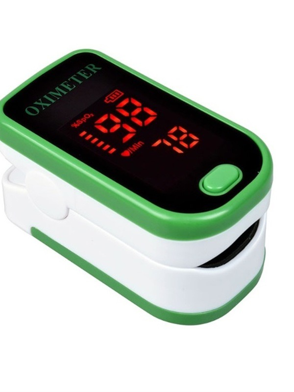 Ericdress Blood Oximeter Finger Clip Heart Rate Instrument Monitoring