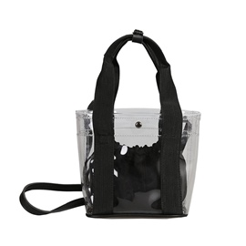Ericdress Transparent Materials Sweet Tote Bags