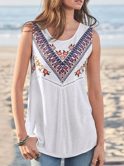Ericdress Polyester Suspenders Mid-Length Tank Top