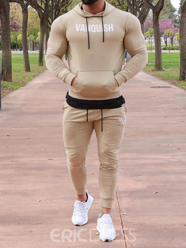 Ericdress Pants Men's Sports Outfit