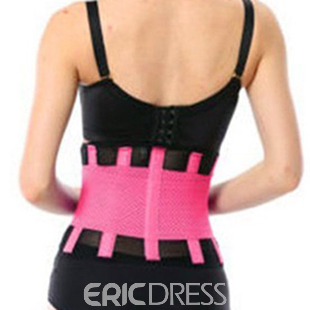Ericdress Polyester Waist Support Yoga Women's Sports Safety