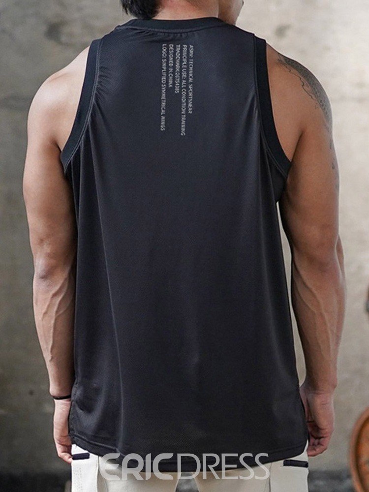 Ericdress Straight Casual Vest