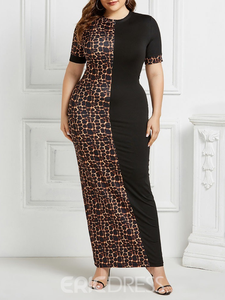 ericdress manches courtes col rond longueur cheville robe pull mode