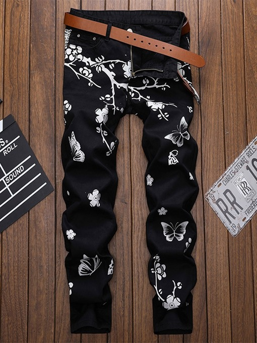 Ericdress Print Casual Four Seasons Casual Pants