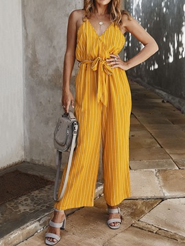 Ericdress Casual Full Length Loose Jumpsuit