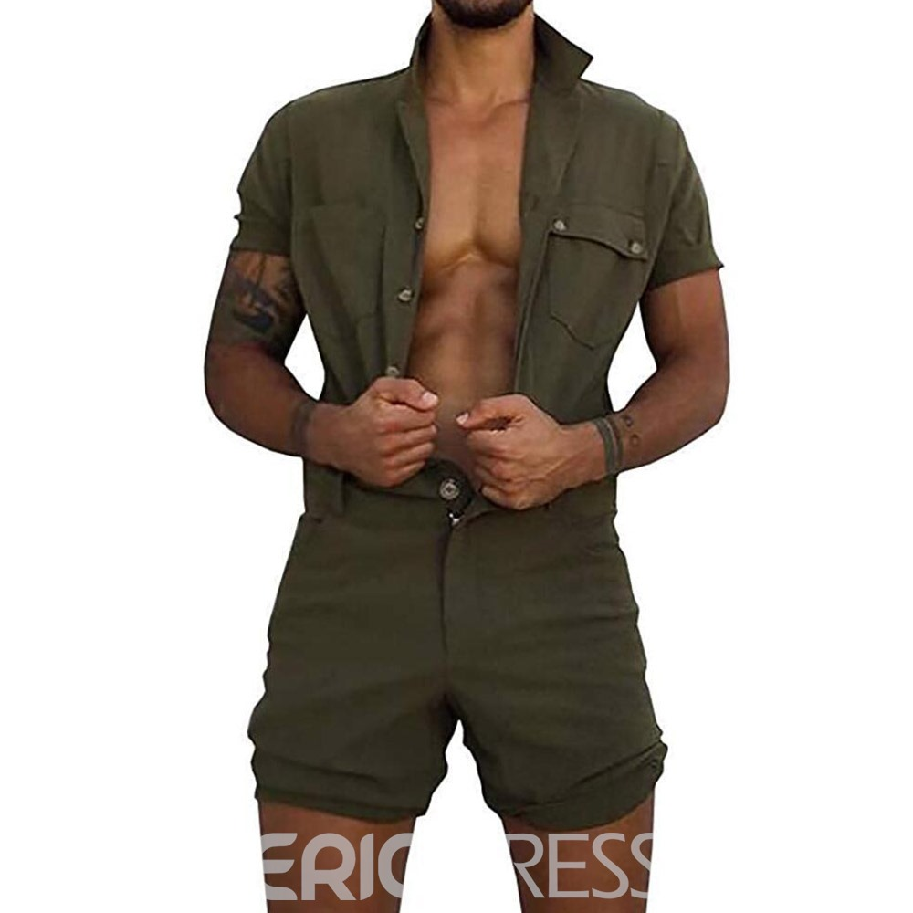Ericdress Shorts Casual Jumpsuits/Overalls