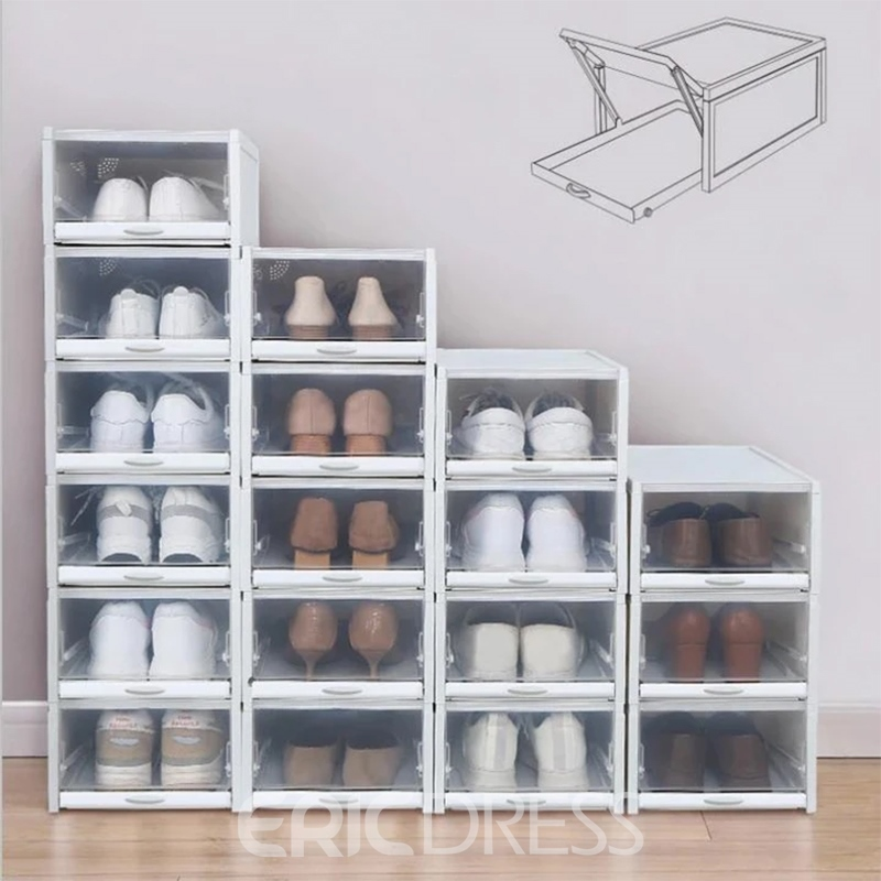 Ericdress Simple Plastic Shoe Cabinets