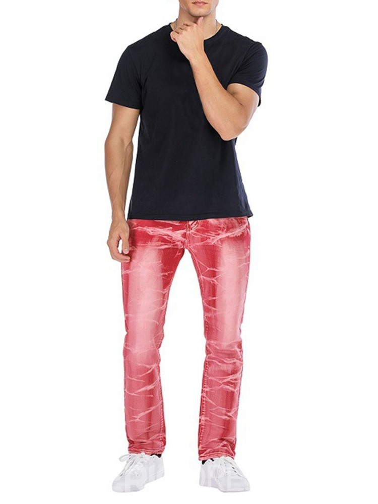 Ericdress Men's Straight Casual Jeans