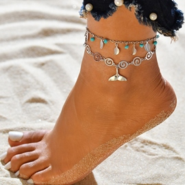 Ericdress Female Plant Anklets