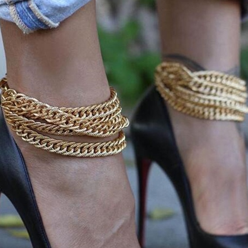 Ericdress Female Geometric Anklets