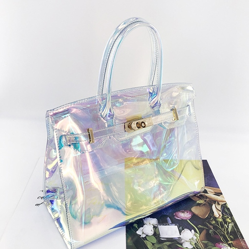 Ericdress PVC Thread Rectangle Tote Bags