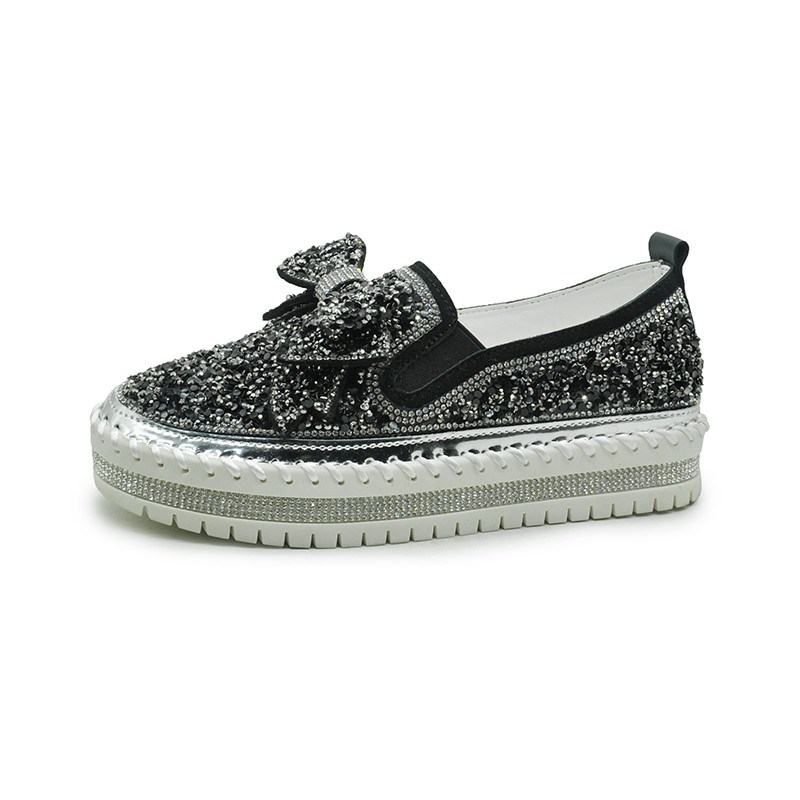 Ericdress Thread Slip-On Round Toe Casual Thin Shoes