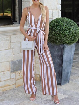 Ericdress Full Length Women's Slim Casual Jumpsuit