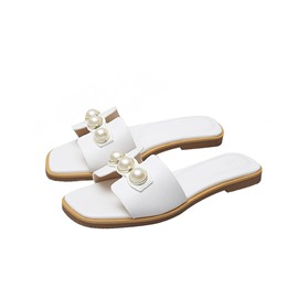 ericdress Perlen Flip Flop Slip-On Slipper