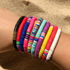 Ericdress Color Block Ethnic Unisex Bracelets