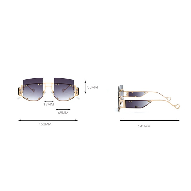 Ericdress Square Fashion Sunglasses