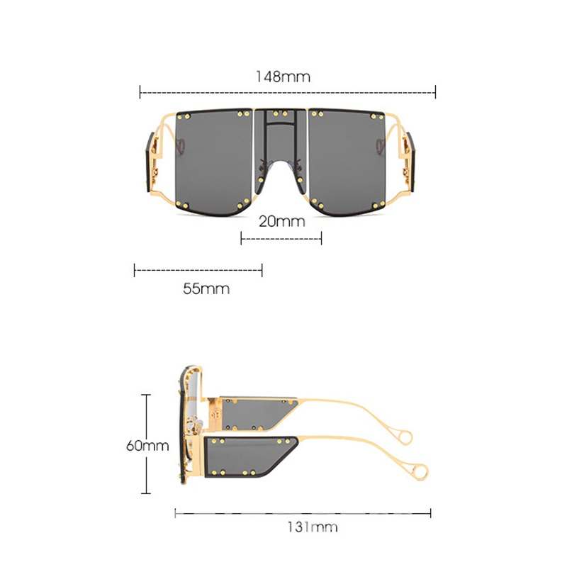 Ericdress Poly Carbonate Women's Fashion Sunglasses