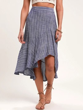 Ericdress Mid-Calf Mermaid Casual Skirt