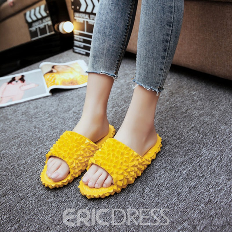 Ericdress Flip Flop Flat With Slip-On Summer Slippers