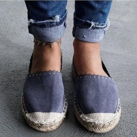 Ericdress Flat With Slip-On Round Toe Casual Thin Shoes