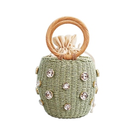 Ericdress Knitted Barrel-Shaped Tote Bags