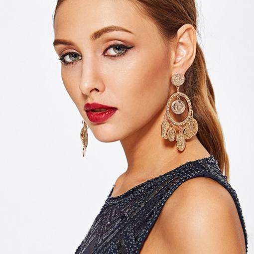Ericdress Vintage Alloy Party Earrings
