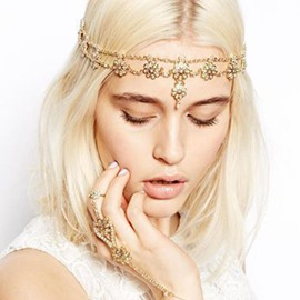 ericdress diamante head chain party cheveux accessoires