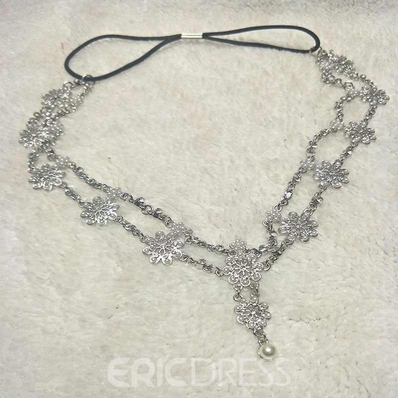 Ericdress Diamante Kopfkette Party Haarschmuck