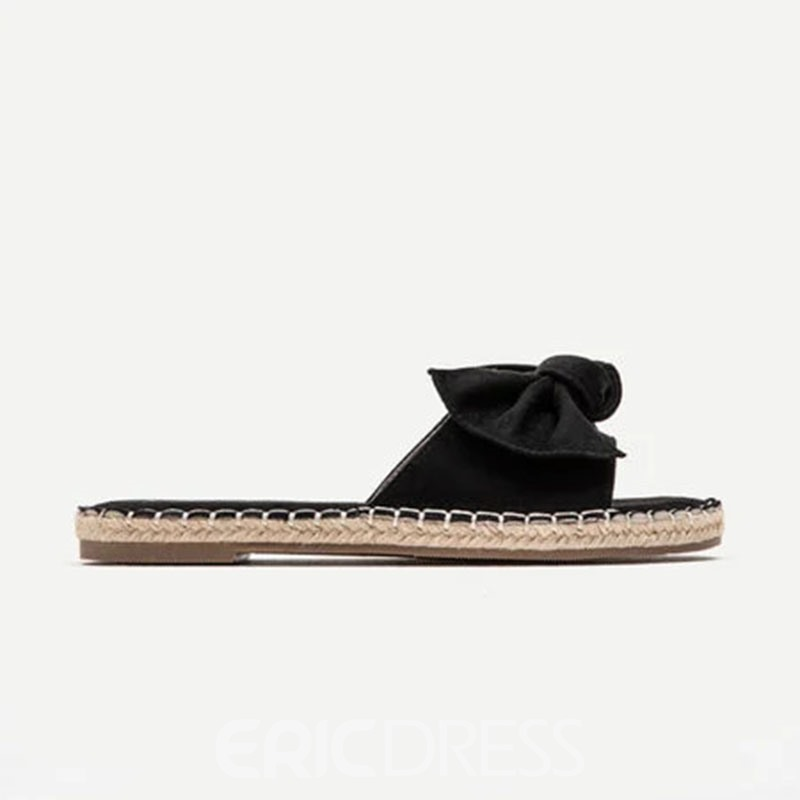 Ericdress Slip-On Flat With Flip Flop Compound Slippers