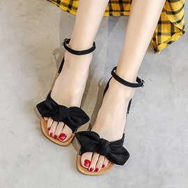 Ericdress Slingback Strap Flat With Open Toe Plain Sandals