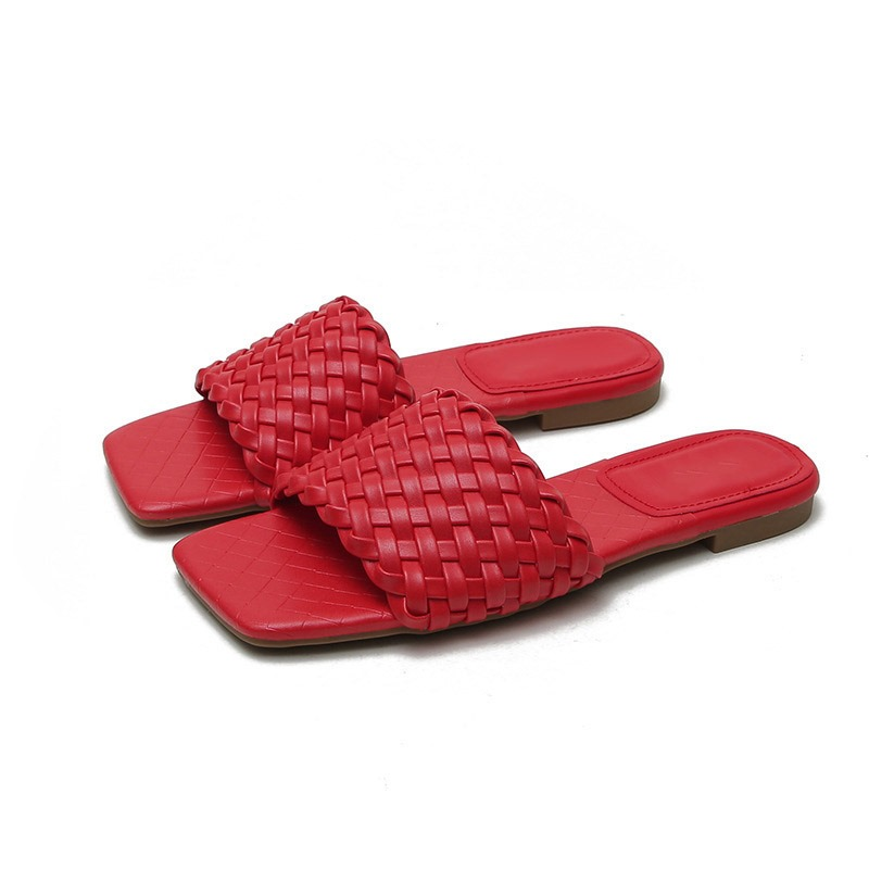 Ericdress Woven Flip Flop Flat With Casual Slippers